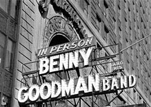 Benny Goodman Marquee